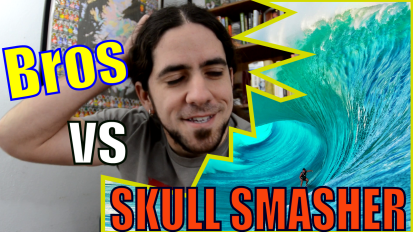 Confessions of a Marine Biologist: Bros vs. Skull Smasher