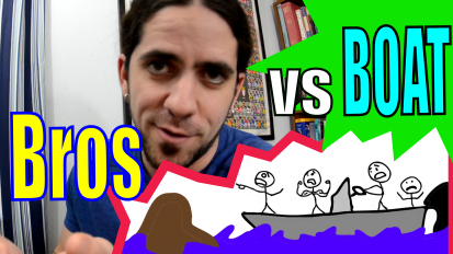 Confessions of a Marine Biologist: Bros vs. Boat