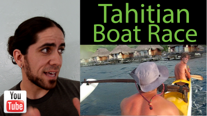 Confessions of a Marine Biologist: Tahitian Boat Race