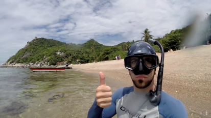 Discovered awesome new study site (Coral Reef Expedition,Thailand)