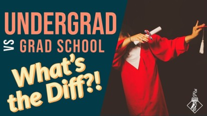 Undergrad vs. Grad School: What's the Diff?